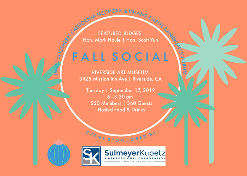 Fall Social Flyer